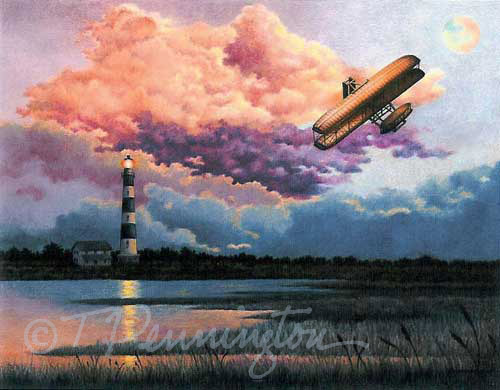 Reflections of the Past: Bodie Lighthouse