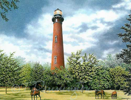 Currituck Beach Lighthouse: Corolla -- NC